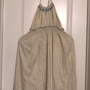 Old Navy Dresses - Old Navy linen halter dress.